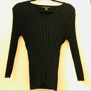 Pierre Cardin Form Fit Sweater Blouse SzL